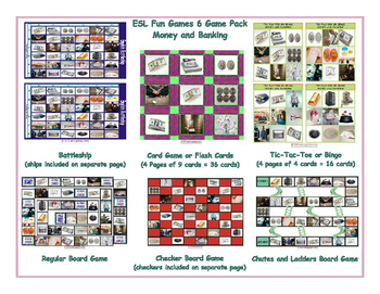 Money and Banking 6 Board Game Bundle