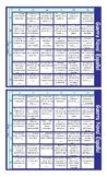 Money and Banking Spanish Battleship Board Game