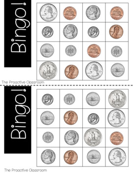 Money and Coins Identification CENTERS BUNDLE! - Identifying Coins & Counting