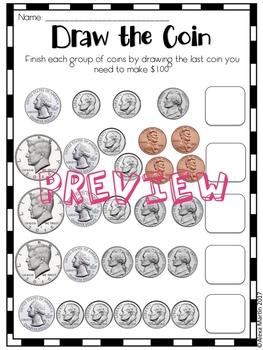 2nd Grade Money Activity Bundle