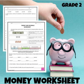Money and Decimals Worksheet