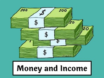 Money and Income Google Slides [Personal Finance Unit 2]