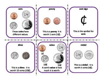 Money and Personal Financial Literacy Kindergarten (Texas)