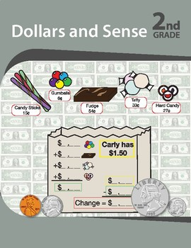 Money and Sense for grade 2: Summer activities