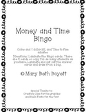 Money and Time BINGO
