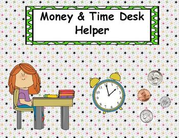 Money and Time Desk Helper