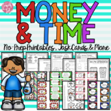 Money and Time Packet Envision Math 2.0 Topic 8