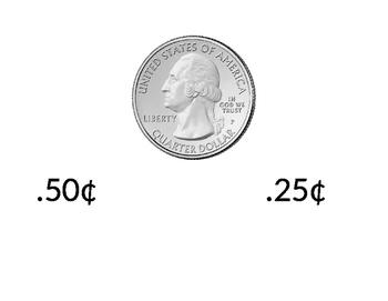 Money as decimals Alternate Assessment