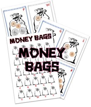 Money bags activity/hunt