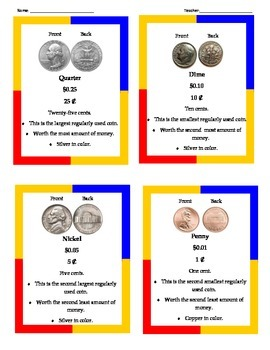 Money: coins worksheets