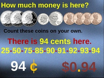 Money, counting change