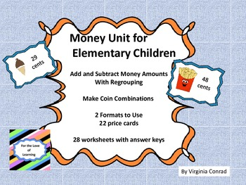 Money for Elementary Students