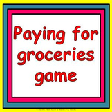 Money game - the grocery bingo shopping game