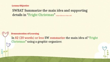 Summarize and Synthesize powerpoint