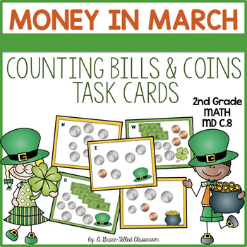 Money in March: Money Task Cards