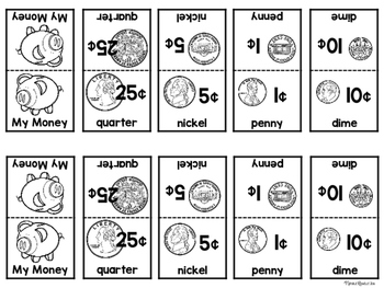 Coin Identification (TEKS): Penny, Nickel, Dime, and Quarter