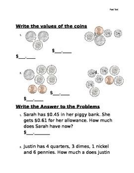 Money post Test