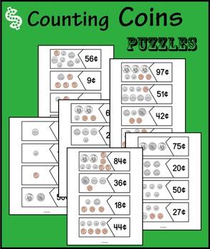 Money puzzles - coins