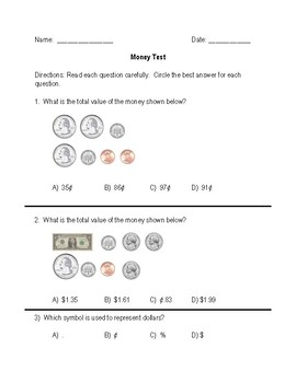 Money to $2.00 Test