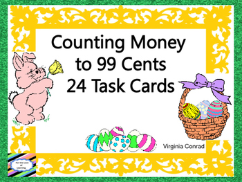 Money to 99 Cents--Easter Theme