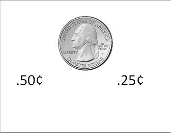 Money value as decimals assessment pack