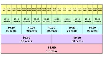 Money wall - Making $1.00