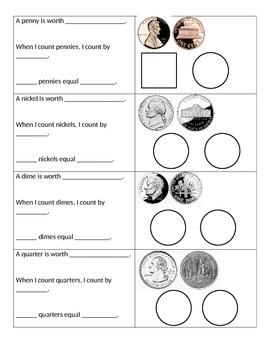 Money/Coin Flip Chart