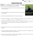 Moneyball Viewing Guide with Answer Key