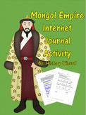 Mongol Empire Internet Journal Activity