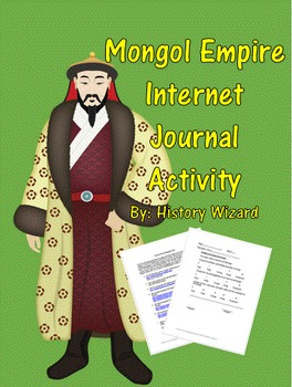Mongol Empire Internet Journal Activity