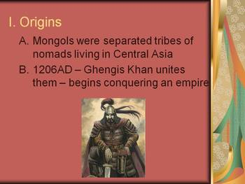 Mongol Empire Lesson Plan: Effects on Russia, China, and the Islamic World