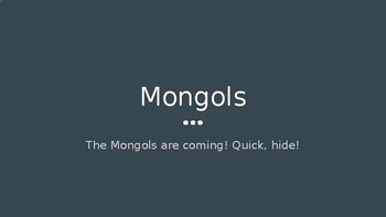 Mongol Empire PowerPoint