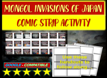 Mongol Invasions of Japan Comic Strip Activity: engaging 2