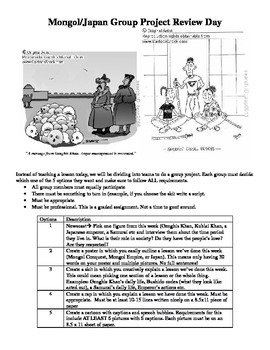Mongol and Japanese Feudalism Group Project