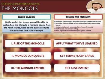 Mongols Common Core Digital Lesson