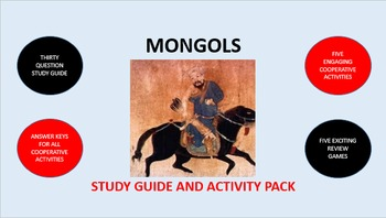Mongols: Study Guide and Activity Pack