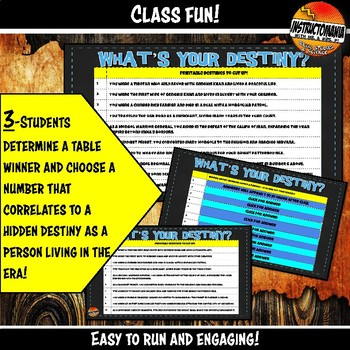 Mongols or Yuan What's Your Destiny Close Reading & Fun Comprehension Game
