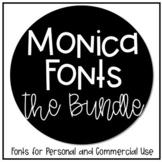 Monica Fonts Bundle - Commercial Use Lifetime License