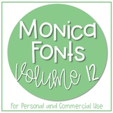 Monica Fonts - Volume 12 {10 Fonts for Personal and Commer