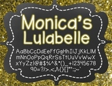 Monica's Lulabelle {Font for Personal and Commercial Use}