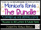 Monica's Bright Light {Font for Personal and Commercial Use}