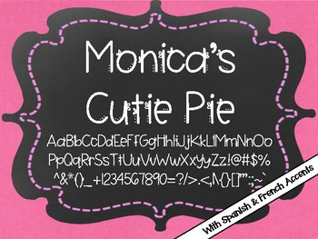 Monica's Fonts - Set #4 {9 Valentine Fonts for Personal & Commercial Use}