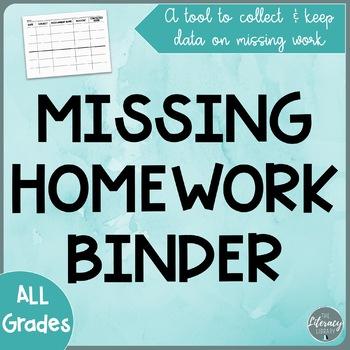 Monitor Missing Homework