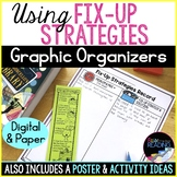 Monitoring Comprehension Fix-Up Strategy Poster, Bookmark & Graphic Organizer