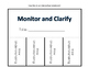 Monitor and Clarify: Tips, Reminders and Five Graphic Organizers