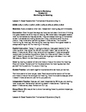 Monitoring For Meaning Reader's Workshop 3-5: Unit Plans