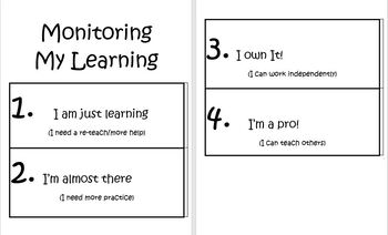 Monitoring My Learning