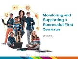 Monitoring and Supporting a Successful Online Students Fir