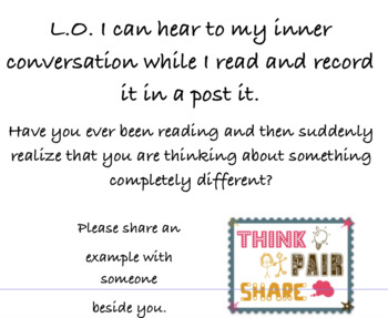 Monitoring inner conversation when reading
