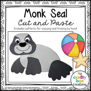 Monk Seal Cut and Paste